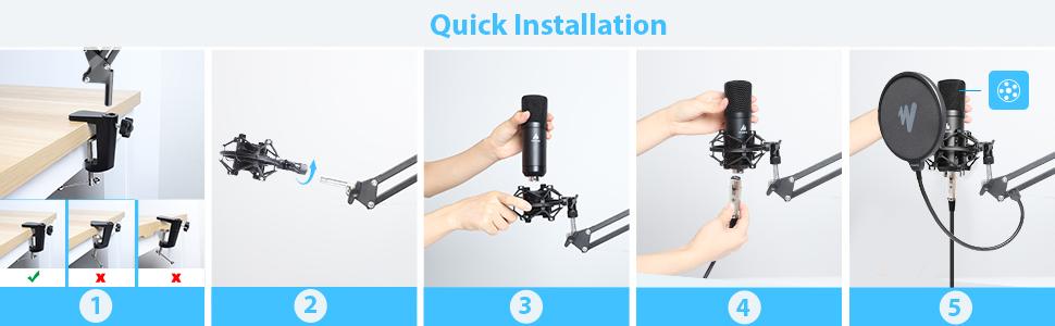 quick installation