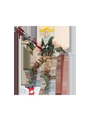 Fortnite Jonesy Png Transparent Amazon Com Fortnite 6 Legendary Series Figure Jonesy Toys Games