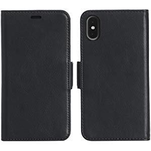 Amazonベーシック iPhone 8/7 取り外し自由合皮ウォレット一體型ケース