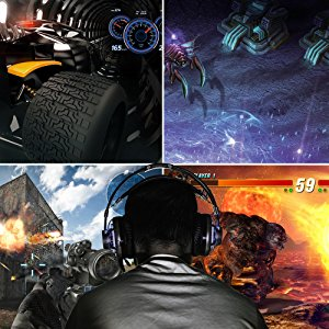 XL-Series monitor with multiple configurations for RTS, FPS, RPG