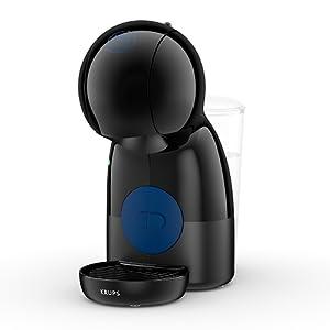 Krups Piccolo KP1A08 - Cafetera cápsulas Nestlé Dolce Gusto de 15 bares de presión y 1500 W de potencia con depósito de 0,8 L, monodosis multibebidas ...