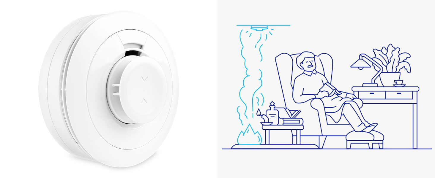 smoke sensor detector