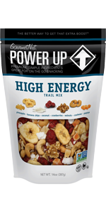 Power Up, Trail Mix, High Energy