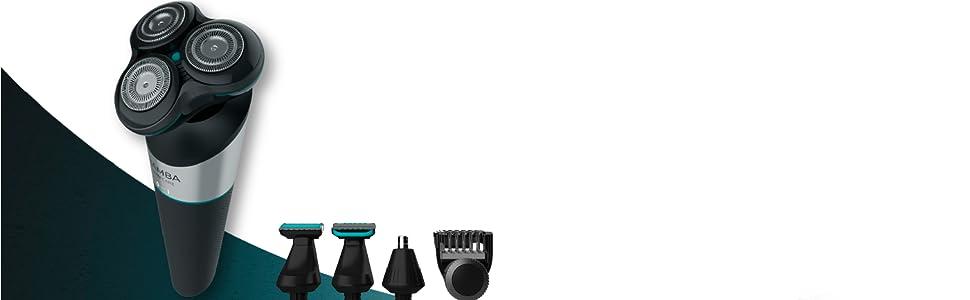 Cecotec Afeitadora Multifunción 5 en 1 Bamba PrecisionCare Twistgroom con batería de litio, cuchillas de acero inox, indicador led y waterproof.: Amazon.es: Salud y ...
