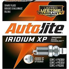 Set of 8 Autolite XP985 XP985 Iridium Spark Plug