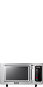 Amazon.com: MIDEA 1025F1A Commercial Microwave, Stainless ...
