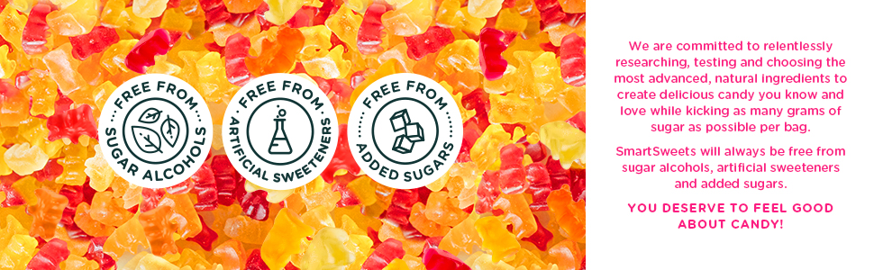 SmartSweets new Formula Fruity Gummy Bears