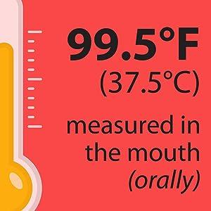 taking temperature orally