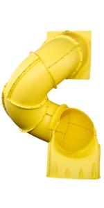 turbo tube, tube slide, ne 4692, slide for kids, toddler slide, plastic slide, swing set slide