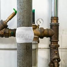1,5 m Leitungen /& Rohrleitungen 5 cm x 1,5m WEICON 10710001 Leitungen Rohrleitungen 5cm Pipe Repair-Kit 5//15 Reparaturset f/ür Rohre