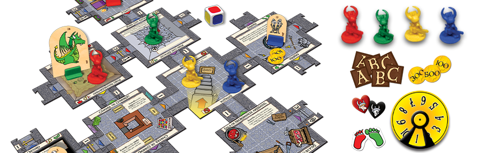 Asmodee - Munchkin Quest, Juego de Mesa (Edge Entertainment ...
