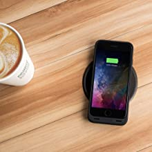 mophie, wireless, battery case, charging, iPhone 7, case, battery, wireless charging, protection
