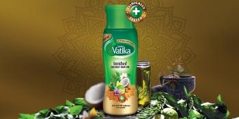 vatika hair oil; coconut hair oil