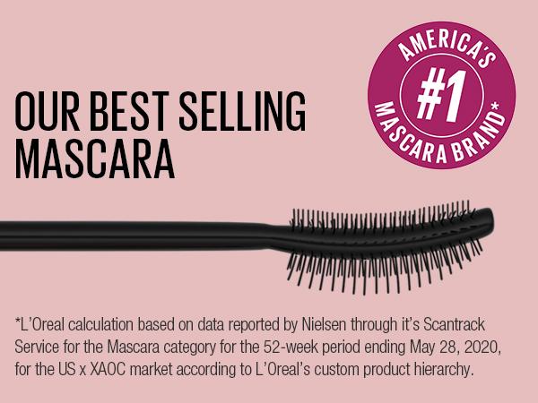 Lash Sensational Full Fan Mascara, mascara reaches every lash to volumize, curled wand