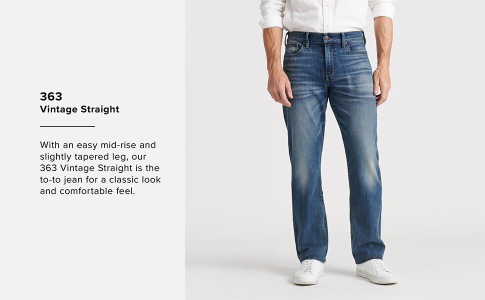 Lucky Brand Men/'s 363 Vintage Straight