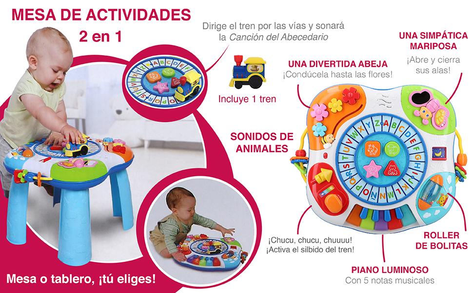 winfun - Mesa de actividades para bebés (44726): Amazon.es ...