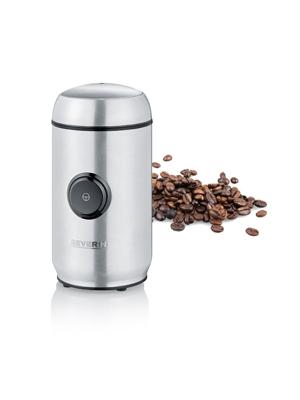 Severin KM 3879 Molinillo de café y especias, 150 W, Negro y plata ...