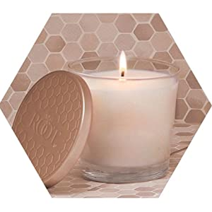 soot free american made beeswax candle jar