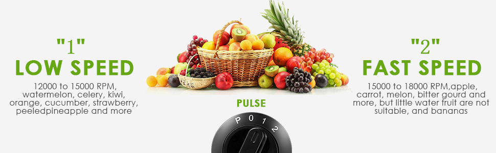 "Juicer Centrifugal Juicer Machine Wide 3"" Feed Chute Juice Extractor Easy  to Clean, Fruit Juicer with Pulse Function and Multi Speed control,"
