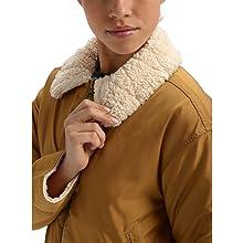 burton reversible jacket fur style