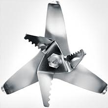 pulverizer, sharp blades