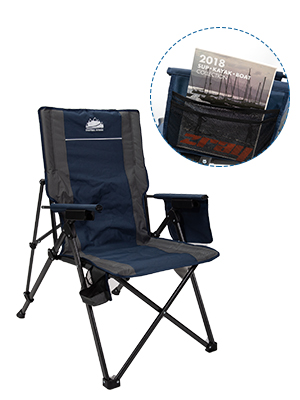camping folding chair, large camping chair