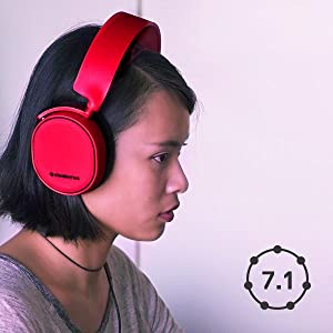 SteelSeries Arctis 3, Auriculares para juego, 7.1 Surround, PC / Mac / Playstation / Nintendo Switch