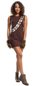 Women's Chewbacca Costume Dress