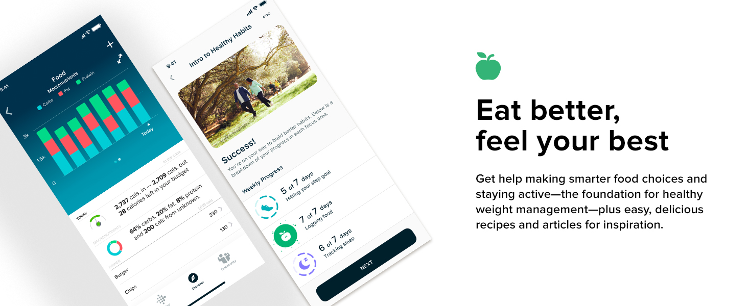 Fitbit Inspire 2 - Eat better, feel your best