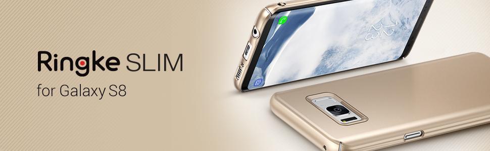 Huse Ringke Slim pentru Samsung Galaxy S8