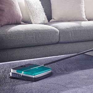 leifheit teppichkehrer rotaro s t rkis teppichkehrer ohne. Black Bedroom Furniture Sets. Home Design Ideas