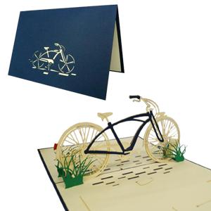 POP UP 3D Karte Geburtstagskarte Gutschein Fahrrad Venlo