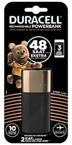 Powerbank 6700 mAh duracell