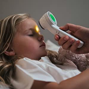 De Braun Contactloze; contactthermometer;