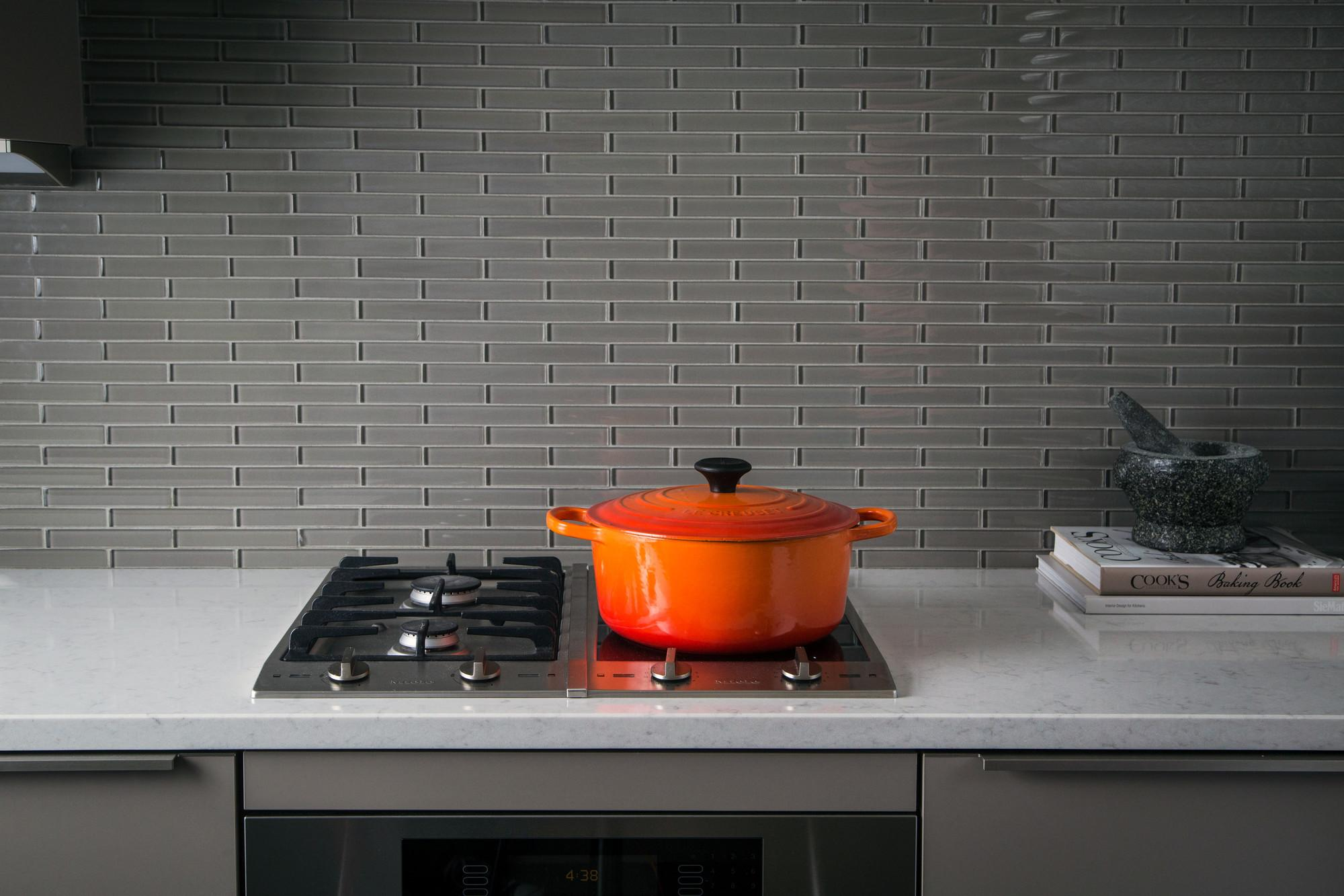 $224 Le Creuset 4.2-Litre Round French Oven, Flame
