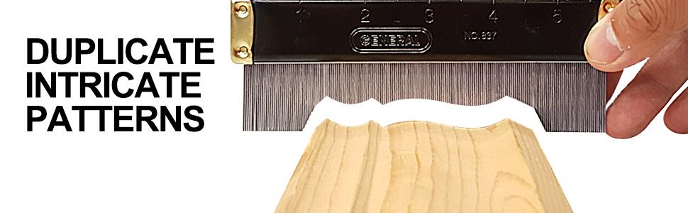 contour gauge, gauge, profile tool, shape duplicator, profile gauge, metal contour gauge