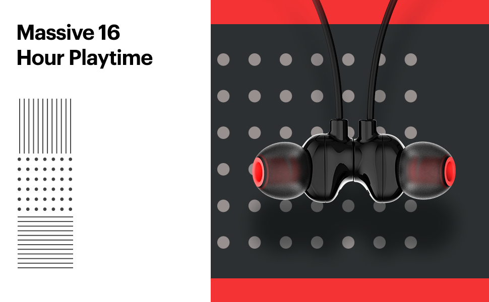 long playtime, massive playtime, long battery life, in ear headphones, mobile bluetooth headset