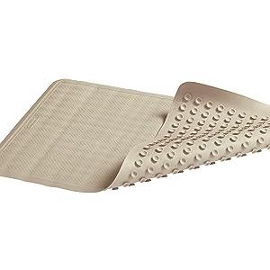 Rubbermaid Commercial Saftigrip Bath Mat Large Brown