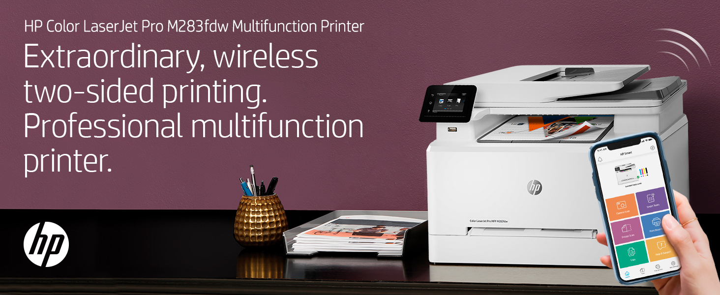 color laserjet pro wireless printing fast two-sided results reliable connectivity fax