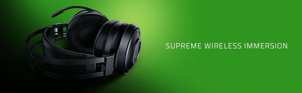 Razer Nari Essential ナリ エッセンシャル ゲーミング ヘッドセット THX 立体音響 サラウンド ワイヤレス 無線 PS4 PlayStation PC windows