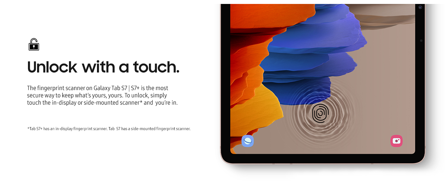 Samsung Galaxy Tab S7+ - Bronze