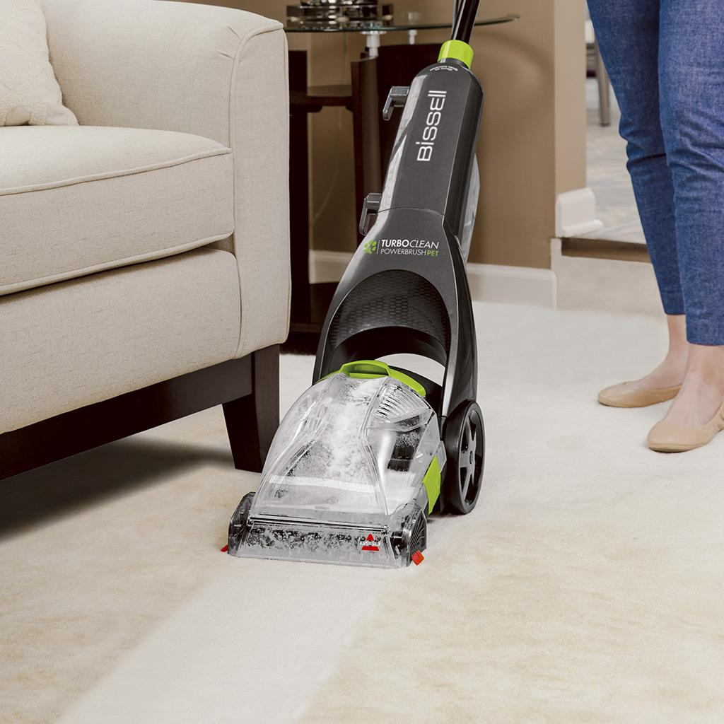 Green Rug Clean Dallas: BISSELL Turboclean Powerbrush Pet Upright
