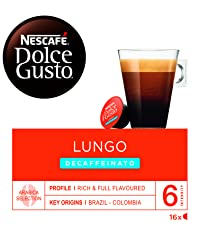 Koffie, Dolce Gusto, Lungo Decaf