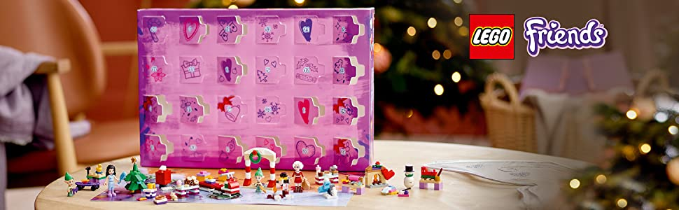 Amazon.com: LEGO Friends Advent Calendar 41420, Kids Advent
