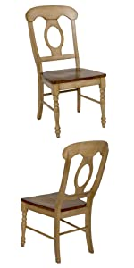 chairs,set of 2,dining chairs,french country,amish,mission,solid wood,chairs for heavy people