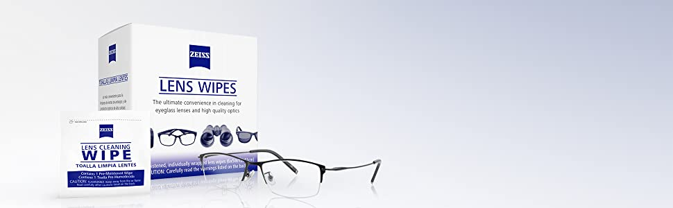 lens wipes, ZEISS, ZEISS lens wipes, glasses cleaner, wipes, cleaning clothes, care touch