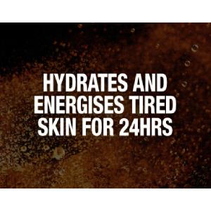 Hydrates skin; energises skin