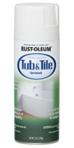 Rust Oleum 244166 Specialty Kit Tub And Tile Touch Up