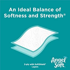 soft & strong toilet paper