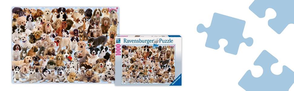 Dog Tales Puzzle 1,000 Piece Puzzle